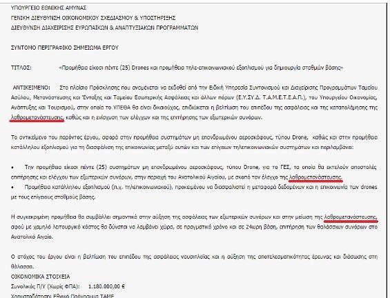 Ερώτηση βουλευτών του ΣΥΡΙΖΑ κατά Καμμένου