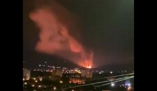 Σερβία: Εκρήξεις σε εργοστάσιο παραγωγής πυρομαχικών στο Τσάτσακ
