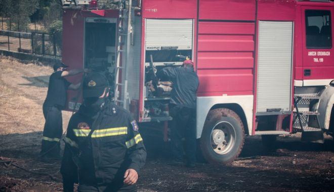 Πυροσβεστικές δυνάμεις (φωτογραφία αρχείου)