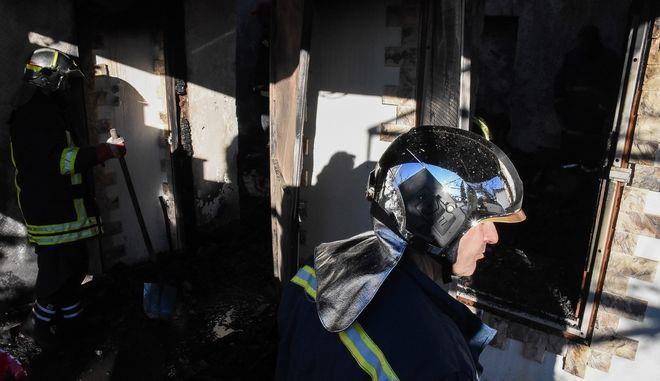 Πυρκαγιά σε οικία στην Αργολίδα. Φωτό αρχείου.