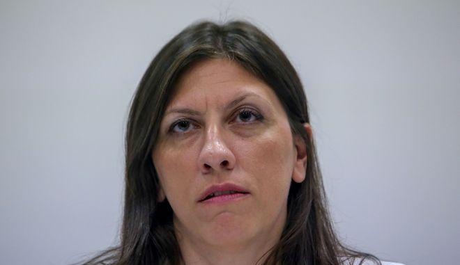 Η πρόεδρος της «Πλεύσης Ελευθερίας», Ζωή Κωνσταντοπούλου.