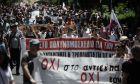 Συγκέντρωση και πορεία εκπαιδευτικών κατά του νομοσχεδίου του υπουργείου Παιδείας