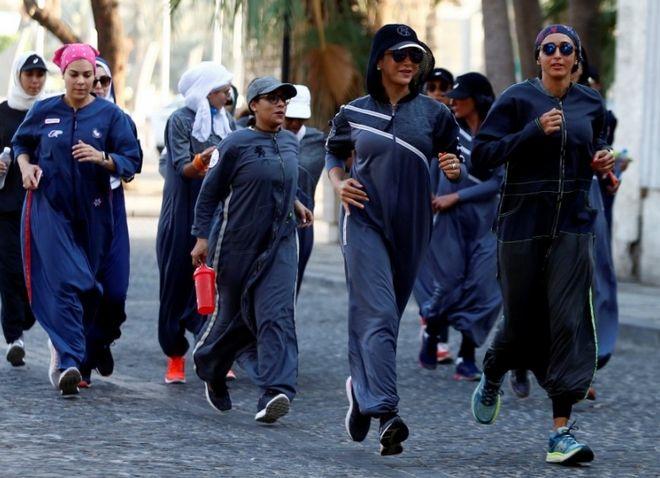 Ιστορική πορεία γυναικών στη Σαουδική Αραβία