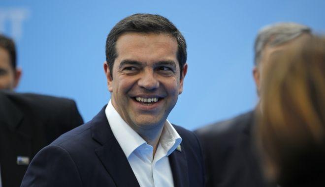 Ο Αλέξης Τσίπρας στη Σύνοδο Κορυφής του ΝΑΤΟ