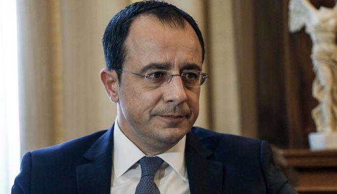 O Υπουργός Εξωτερικών της Κύπρου, Νίκος Χριστοδουλίδης