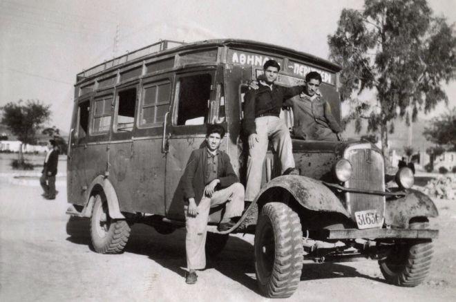 Λεωφορείον ο νόστος: Βόλτα στην παλιά Αθήνα με το Scania Vabis B7157