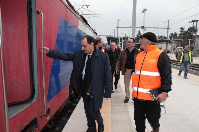 Την 1η Φεβρουαρίου σε λειτουργία η διπλή σιδηροδρομική γραμμή Τιθορέα - Λιανοκλάδι