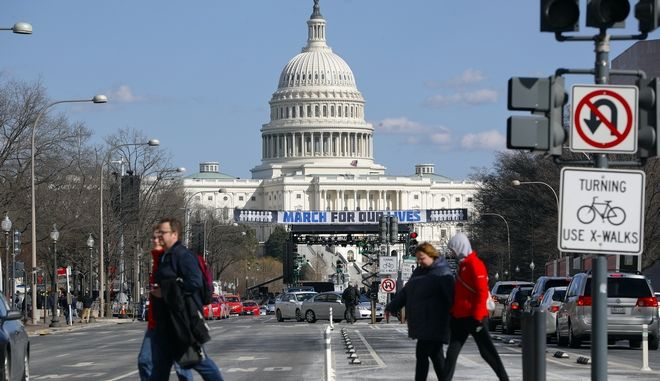 Διαδήλωση κατά των όπλων στις ΗΠΑ (AP Photo/Pablo Martinez Monsivais)