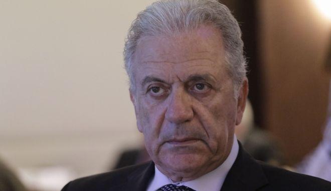 Ο Δημήτρης Αβραμόπουλος