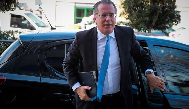 Ο Αναπληρωτής Υπουργός Προστασίας του Πολίτη με αρμοδιότητα σε θέματα μεταναστευτικής πολιτικής, Γιώργος Κουμουτσάκος.