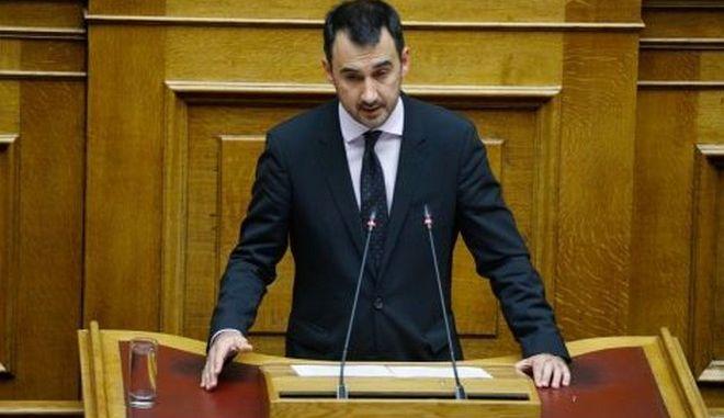 Συζήτηση στην ολομέλεια της Βουλής για τη ψήφο των αποδήμων, Αλέξης Χαρίτσης