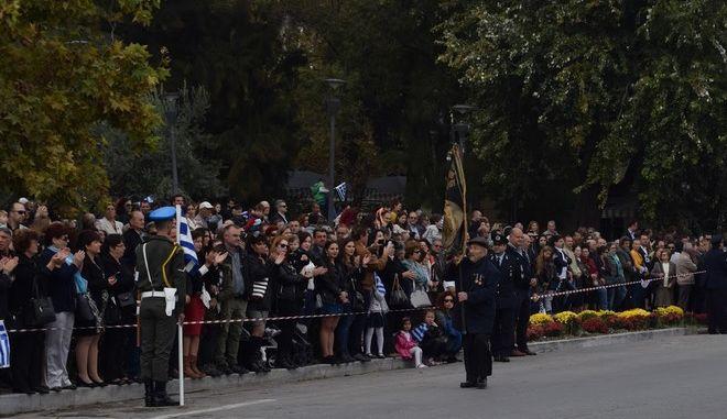 Ο τελευταίος πολεμιστής της Λέσβου: Ο 95χρονος Αντώνης Αλεξανδρής παρελαύνει