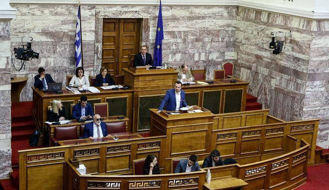 Συζήτηση επίκαιρων ερωτήσεων στην Βουλή την Παρασκευή 4 Μαΐου 2018