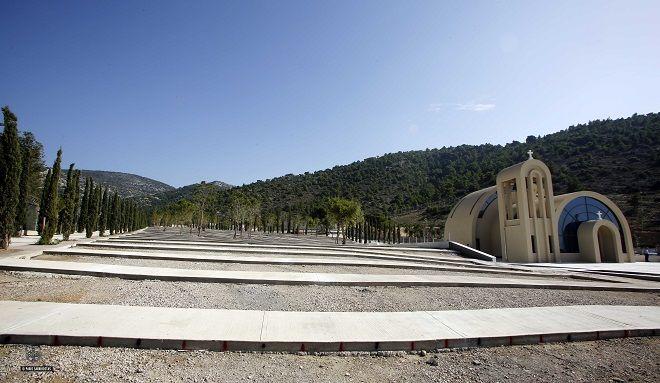 Το νέο κοιμητήριο της Γλυφάδας