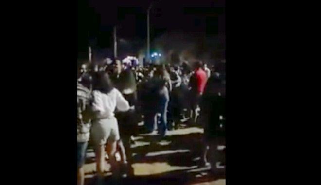 Προβληματισμός για το υπαίθριο πάρτι 1.000 ατόμων στην πλαζ της Πάτρας
