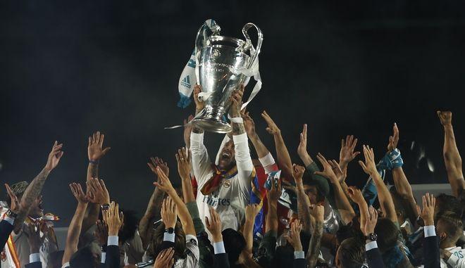 Στιγμιότυπο από την περσινή κατάκτηση του Champions League