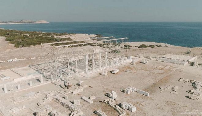 Δεσποτικό: Το μνημείο μετά την ολοκλήρωση των αναστηλωτικών εργασιών 2019