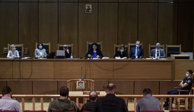 Τρίτη ημέρα της ακροαματικής διαδικασίας της απόφασης στην δίκη της Χρυσής Αυγής, Παρασκευή 9 Οκτωβρίου 2020