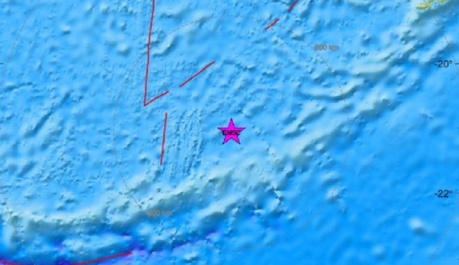 Σεισμός 7,2 Ρίχτερ κοντά στο Βανουάτου - Δεν υπάρχει κίνδυνος για τσουνάμι