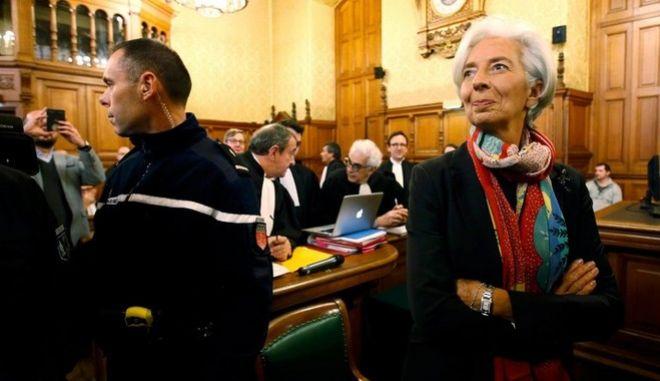 Ένοχη η Κριστίν Λαγκάρντ για την υπόθεση Ταπί