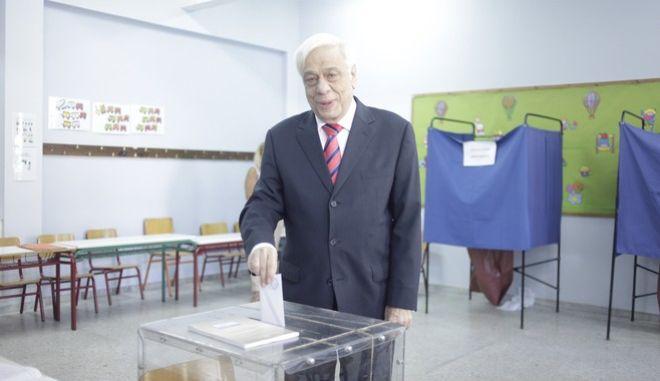 Πρ. Παυλόπουλος, φωτό αρχείου