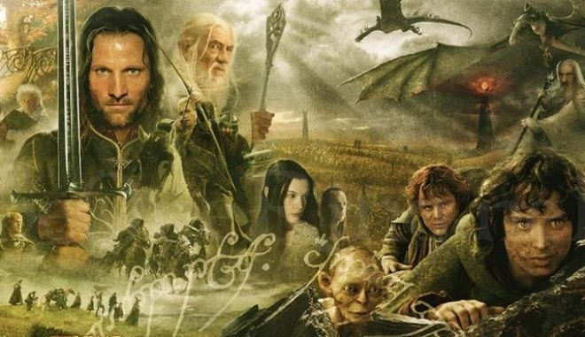Lord of the Rings πόστερ