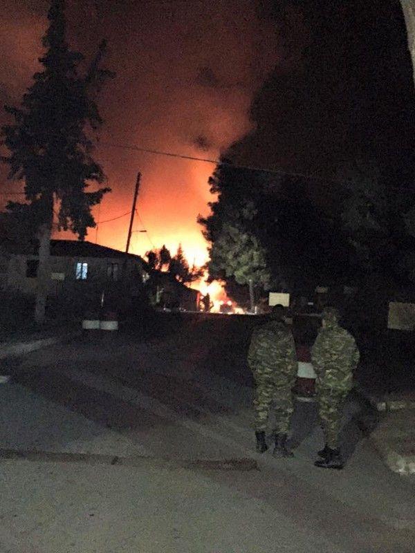 Γιαννιτσά: Δύο πυρκαγιές σε ένα 24ωρο σε δύο στρατόπεδα που επρόκειτο να χρησιμοποιηθούν για τη φιλοξενία προσφύγων