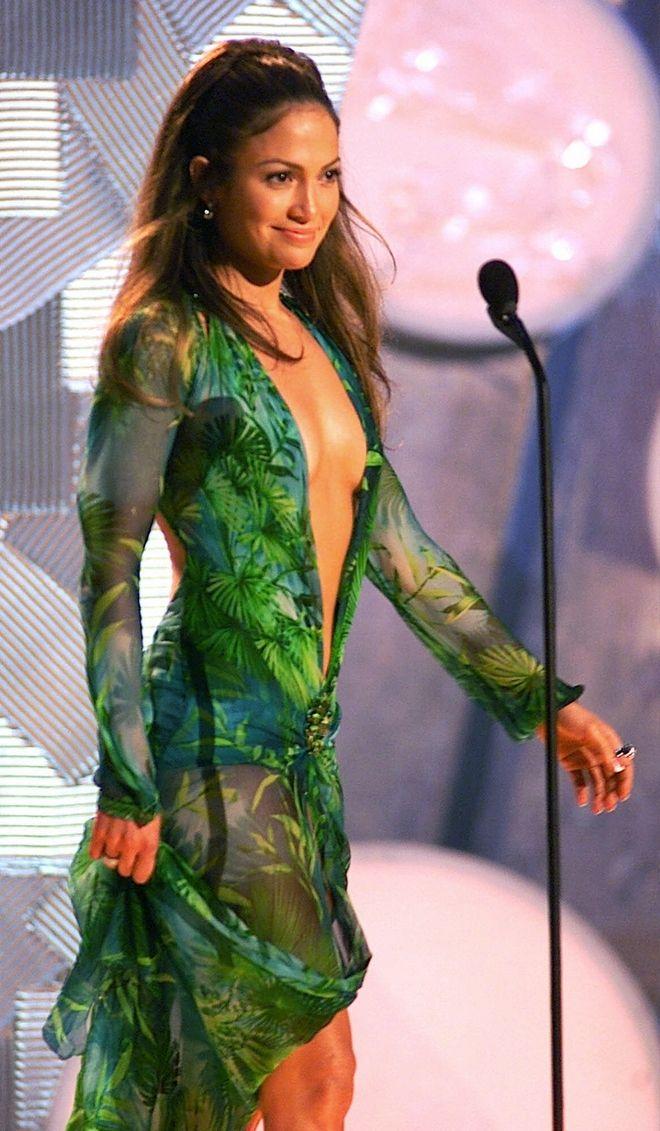 Η Τζένιφερ Λόπεζ στα Grammys το 2000