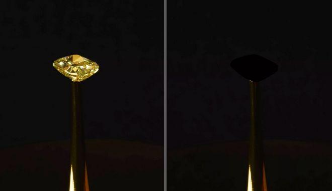 Ερευνητές δημιούργησαν το πιο μαύρο υλικό που έχει υπάρξει ποτέ