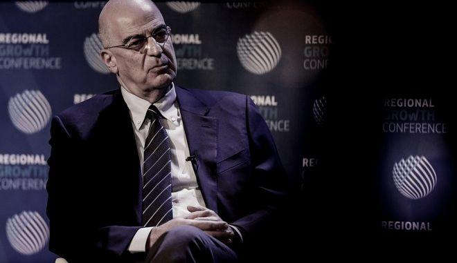Ο υπουργός Εξωτερικών, Νίκος Δένδιας στο REGIONAL GROWTH CONFERENCE 2021