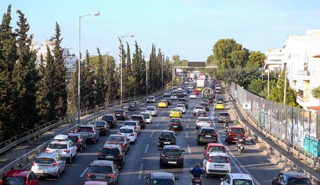 Κίνηση στους δρόμους: Πού υπάρχουν προβλήματα - LIVE ΧΑΡΤΗΣ