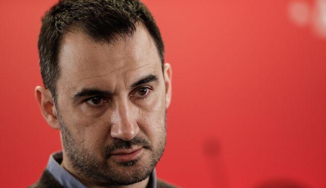 Ο Αλέξης Χαρίτσης σε εκδήλωση του ΣΥΡΙΖΑ