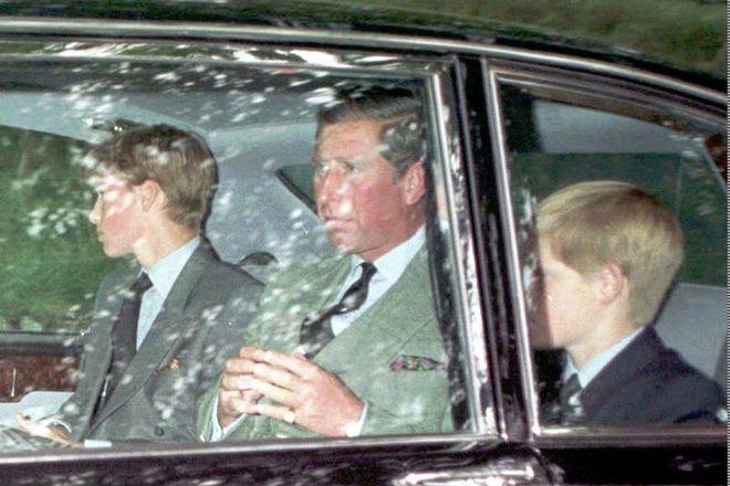 Ο Πρίγκιπας Κάρολος και οι γιοι του μετά τα δυσάρεστα νέα