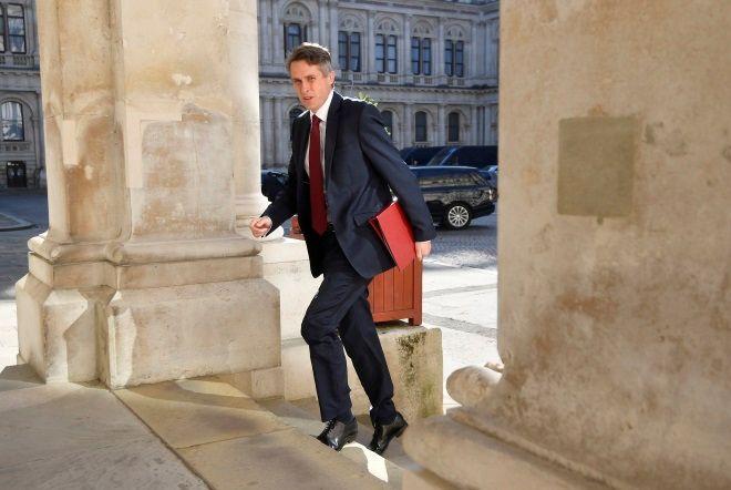 Ο απερχόμενος υπουργός Παιδείας της Βρετανίας Γκάβιν Ουίλιαμσον