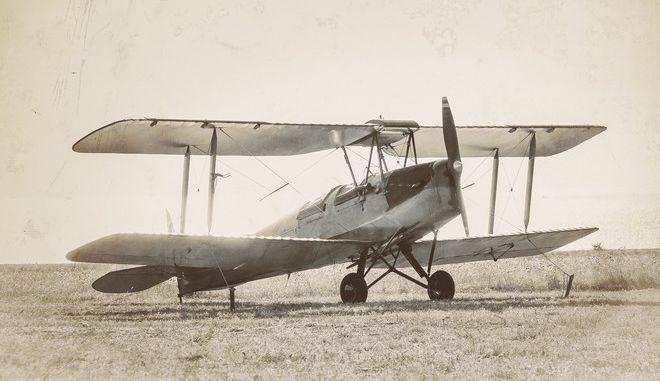 Παλιό αεροπλάνο (φωτογραφία αρχείου)