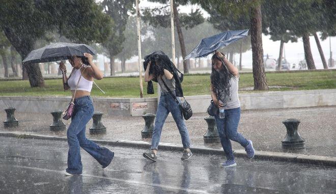 Βροχές και καταιγίδες