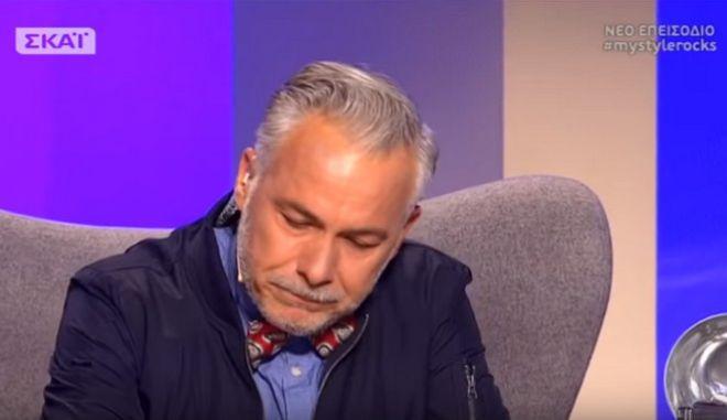 My style rocks: 'Λύγισε' στον αέρα ο Χάρης Χριστόπουλος