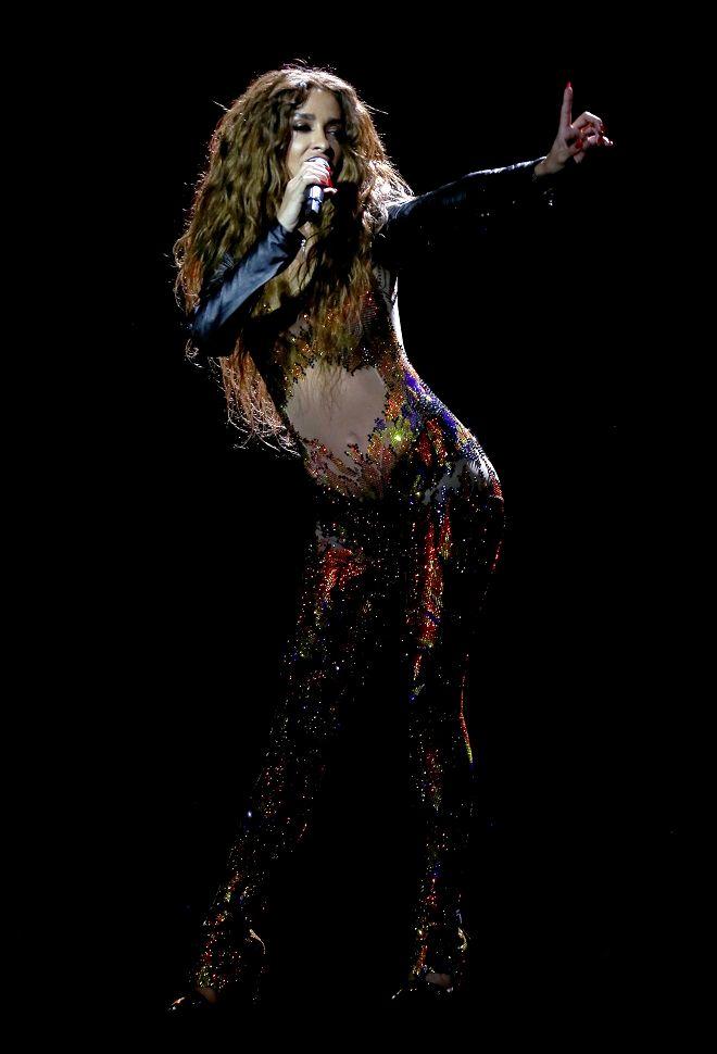 Η Ελένη Φουρέιρα, που εκπροσωπεί την Κύπρο στoν διαγωνισμό τραγουδιού Eurovision 2018 με το τραγούδι