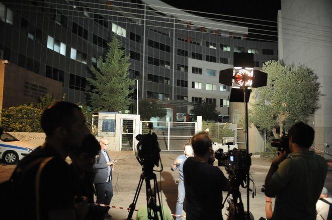 Στιγμιότυπο από την Γενική Γραμματεία Ενημέρωσης κατα την διάρκεια της δημοπρασίας των τηλεοπτικών αδειών την Πέμπτη 1 Σεπτεμβρίου 2016. (EUROKINISSI/ΜΠΟΛΑΡΗ ΤΑΤΙΑΝΑ )
