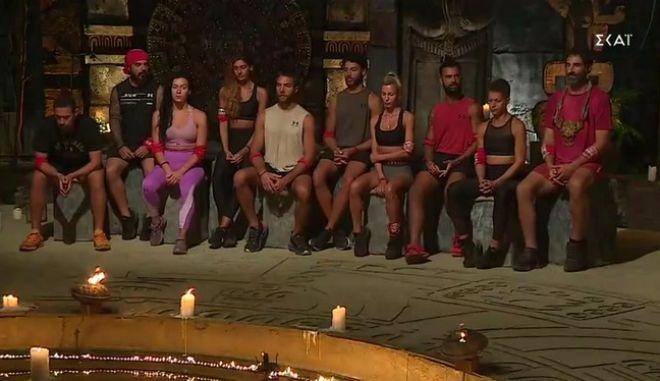 Η Κόκκινη ομάδα του Survivor 4