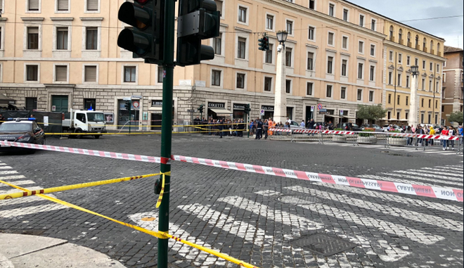 Ρώμη: Φάρσα το τηλεφώνημα για βόμβα δίπλα στο Βατικανό
