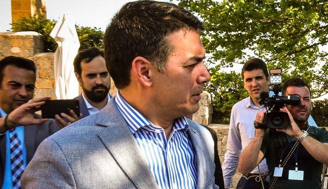 Ο υπουργός Εξωτερικών της FYROM Νικολά Ντιμιτρόφ