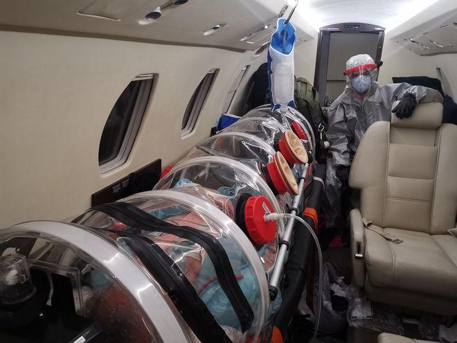 Γιατροί πέταξαν μέχρι το Κιργιστάν και έφεραν στην Ελλάδα ασθενή με κορονοϊό