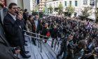 Trial of the Mayor of Patras Kostas Peletidis, in Patras, on February 23, 2017 /      ,    ,          ,  ,  23 , 2017