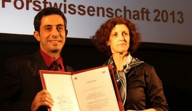 Διεθνές βραβείο σε Κύπριο επιστήμονα για τις δασικές επιστήμες