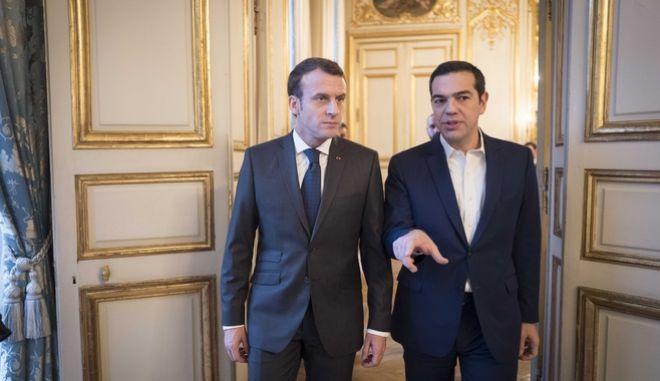 Σήμα Μακρόν για επενδύσεις στην Ελλάδα- Τι συζήτησαν στο πρόγευμα με τον Τσίπρα