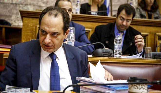 Υπουργός Υποδομών και Μεταφορών, Χρήστος Σπίρτζης (EUROKINISSI/ΓΙΩΡΓΟΣ ΚΟΝΤΑΡΙΝΗΣ)