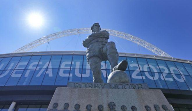Στο Wembley θα ολοκληρωθεί το Euro 2020, με τον τελικό που θα διεξαχθεί στις 11/7.