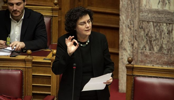 """Συζήτηση στην Βουλή και ψήφιση επί της αρχής, των  άρθρων και  του συνόλου του σχεδίου νόμου: """"Ρυθμίσεις για την επανεκκίνηση της οικονομίας"""", την Παρασκευή 20 Μαρτίου 2015. (EUROKINISSI/ΓΙΩΡΓΟΣ ΚΟΝΤΑΡΙΝΗΣ)"""