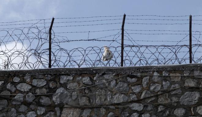 Στιγμιότυπο από τις φυλακές Κορυδαλλού (EUROKINISSI/ΓΙΩΡΓΟΣ ΚΟΝΤΑΡΙΝΗΣ)
